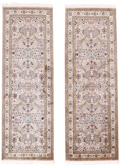 6foot 2m twin silk rugs runner