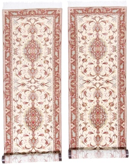 11foot long twin tabriz runner rug