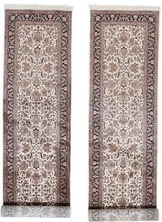 10foot 3m twin silk rugs runner