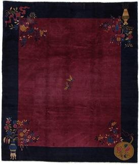 9x8 antique peking chinese rug