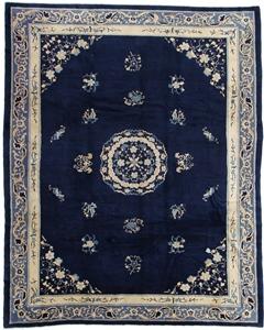 11x9 antique peking chinese rug