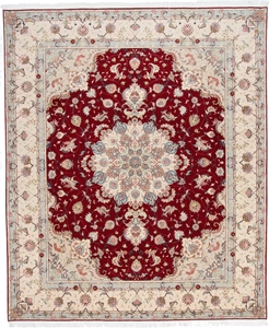 10x8 high quality tabriz carpet