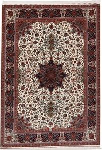 11x8 400kpsi silk tabriz rug