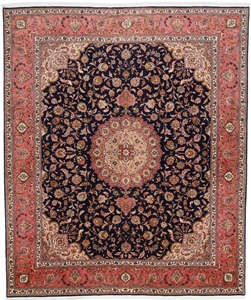 9x8 high quality tabriz carpet