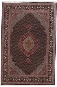 9x6 mahi tabriz rug with silk