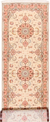 14x3 long tabriz runner carpet