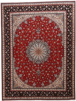 13x10 high quality tabriz persian rug