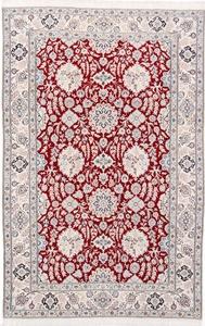 10x6 red nain persian rug