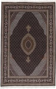 10x6 mahi tabriz rug with silk
