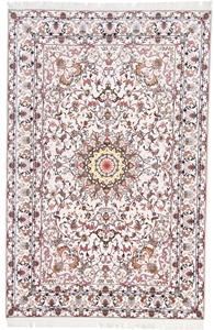 Metal Soof Tabriz Silk Persian Rug