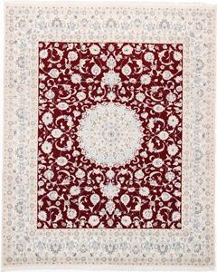 10x8 red nain persian rug