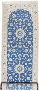 10x2 light blue nain persian runner