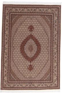 pirouzian mahi tabriz persian carpet