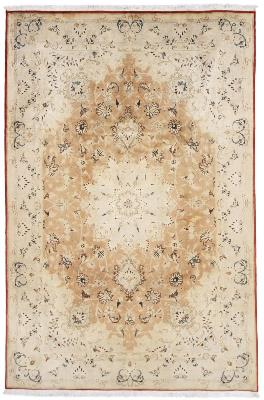 40Raj 350 KPSI Tabriz Silk Persian Rug