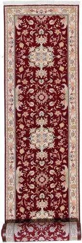 20x3 50 Raj Faraji Tabriz Persian rug. Signed faraji Tabriz Persian carpet.