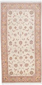 signed 12x6 faraji tabriz persian rug