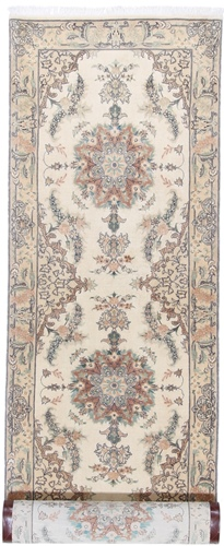 12x3 long tabriz runner carpet
