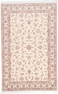 signed 10x6 faraji tabriz persian rug