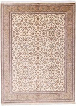 10x13 800kpsi pure silk Qum Persian rug