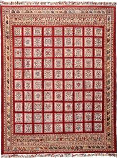 12ft by 9ft nimbaft kelim persian rug