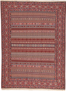 12x9 Nimbaft kelim persian carpet