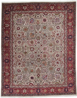 12x10 high quality tabriz carpet