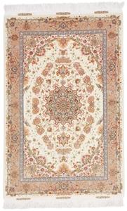5x3 600kpsi 70raj silk tabriz persian rug