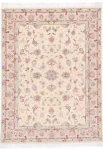 Faraji Tabriz Persian rug, silk high quality Tabriz carpet.