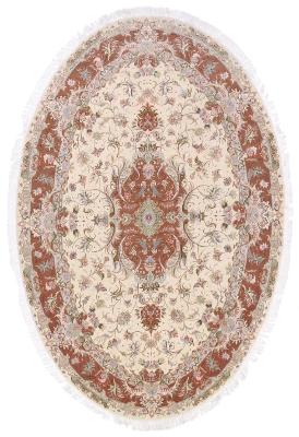 9x6 oval tabriz persian rug