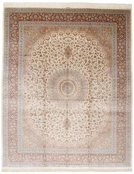 14x11 qum persian rug 500kpsi silk