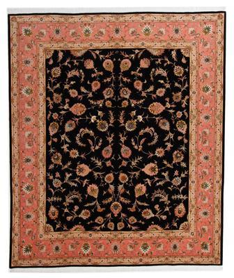 signed 10x8 faraji tabriz persian rug