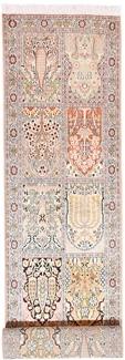 10x3 handmade kashmir silk rug runner