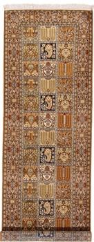 9x2 kashmir silk persian rug runner