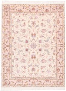 signed 6x4 faraji tabriz persian rug