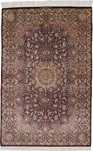 800 KPSI Pure Silk Qum Persian rug