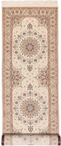 13foot 4m fine silk isfahan rug