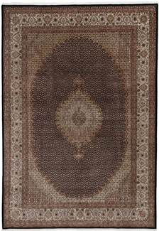 11x8 mahi tabriz carpet with silk