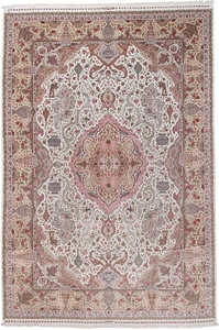 16x11 55Raj 400kpsi signed Tabriz Persian rug