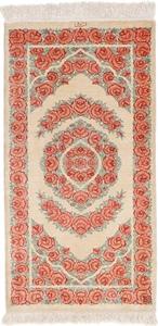 3x2 twin silk qum persian rugs