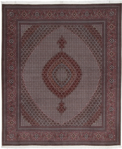 11x10 mahi tabriz rug with silk