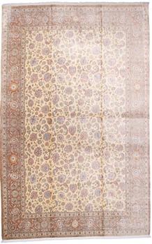 19x12 600kpsi pure silk Qum Persian rug