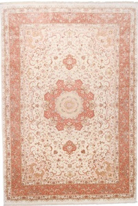 16x11 400kpsi silk tabriz persian rug