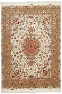 600kpsi 70raj tabriz silk persian rug