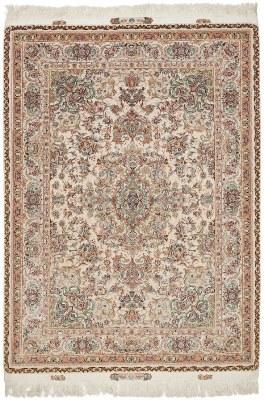 80 Raj 700 KPSI 7x5 Silk Foundation Tabriz Persan rug