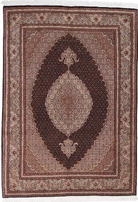 7x5 mahi tabriz rug with silk