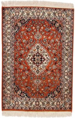3x2 18-18 silk kashmir persian rug