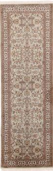 8x2 Runner 350KPSI silk Kashmir Persian rug, 18/18 kashmir carpet