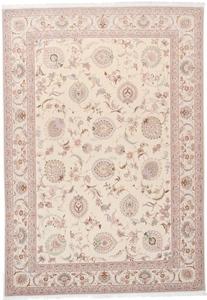signed 11x8 faraji tabriz persian rug