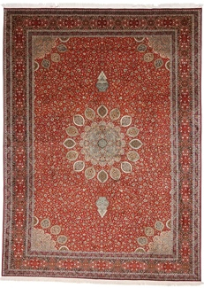 12x8 700kpsi silk kashmir carpet