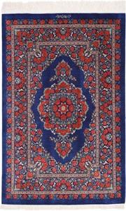 3x2 finest silk qum persian rug